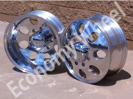 Silver Rims - Dually Wheels, Dually Rims, RV Rims, RV Tires